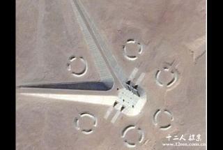 埃及惊现神秘建筑群 埃及UFO基地曝光?