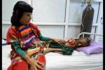 也门女孩如骷髅 似现实版僵尸