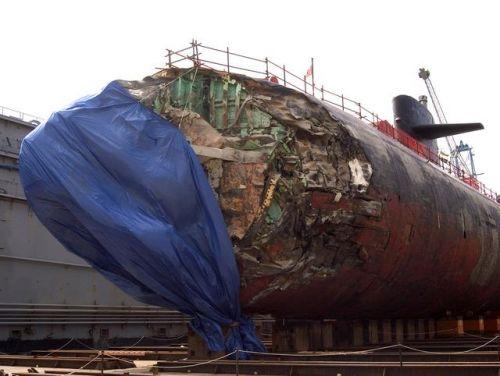美核潜艇高速撞山 揭秘事件始末全过程(图)