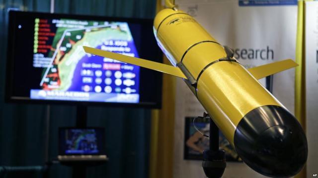 中美移交无人潜航器 美国被扣无人潜航器背后有个大计划