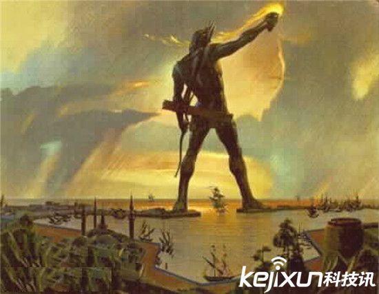 罗德港巨人雕像 建造时间:公元前4世纪晚期