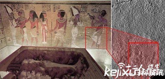 考古发现 埃及法老王墓陪葬物中图片