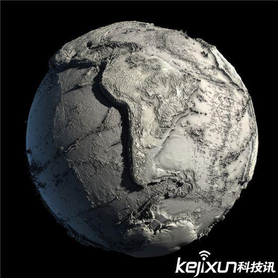 宇宙探索!另类解密:地球素颜照吓死人【图】