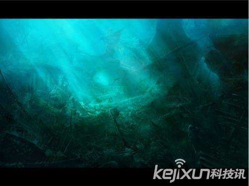 宇宙探索 宇宙未解之谜 海底藏外星人UFO基地
