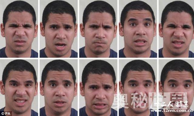 揭秘研究显示人类具有21种不同的表情(图)【图文】图片