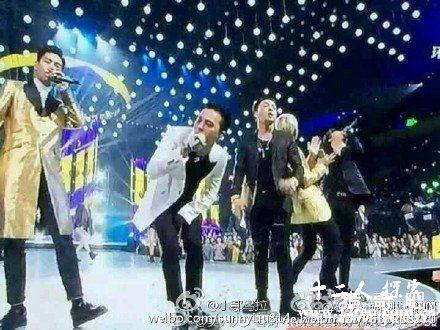 跨年夜bigbang引爆湖南卫视图片