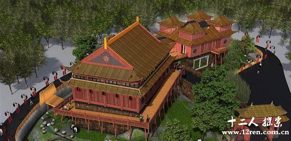 荷兰建成史上最奢华大熊猫园:比照中国皇家宫殿