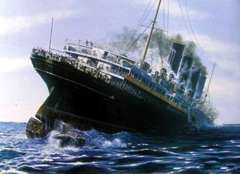 世界20大沉船事件之十二:盧西塔尼亞號的沉沒