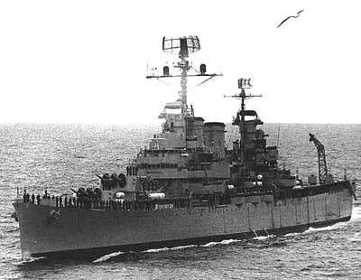 世界20大沉船事件之十四:貝爾格拉諾將軍號