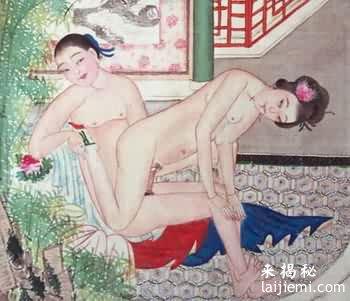 中国古代春宫图