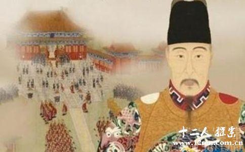 明嘉靖皇帝画像