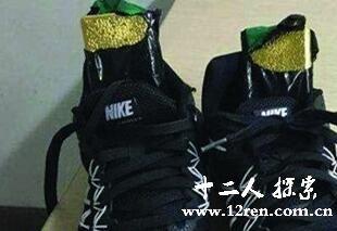 运动鞋藏4斤黄金
