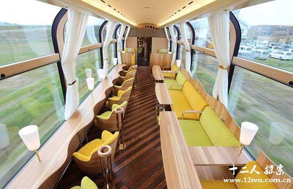 世界奇闻!日本透明玻璃观光列车