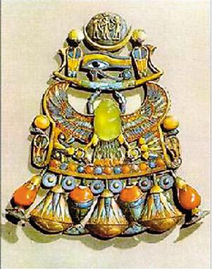 全球5大被诅咒的宝石:圣甲虫形珠宝饰物 - 法老的诅咒